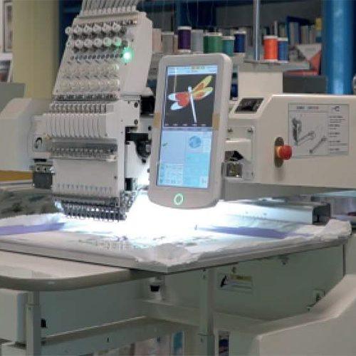 Ricamatrice Industriale 1201 H